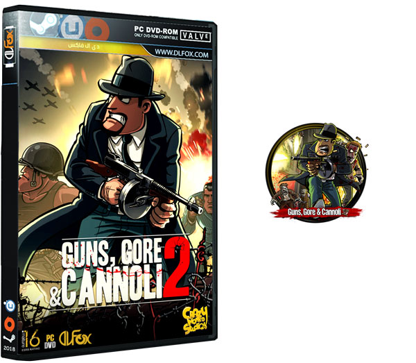 دانلود نسخه فشرده بازی Guns Gore and Cannoli Duology برای PC