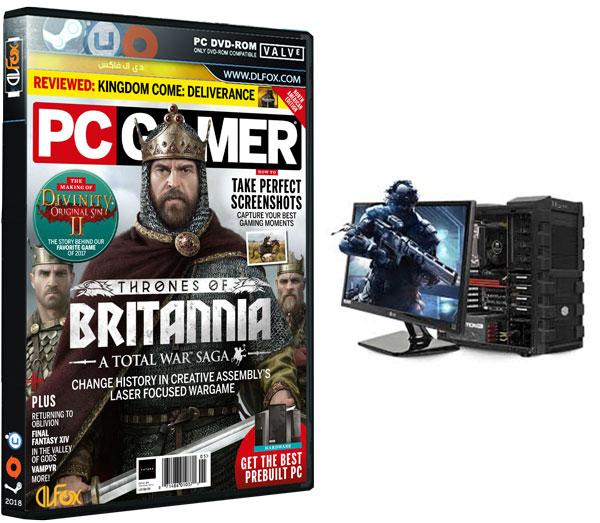 دانلود مجله PC Gamer USA – May 2018