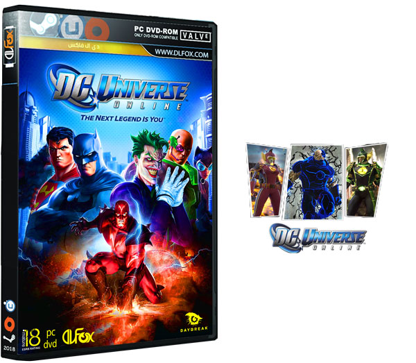 دانلود نسخه نهایی بازی DC Universe™ Online برای PC