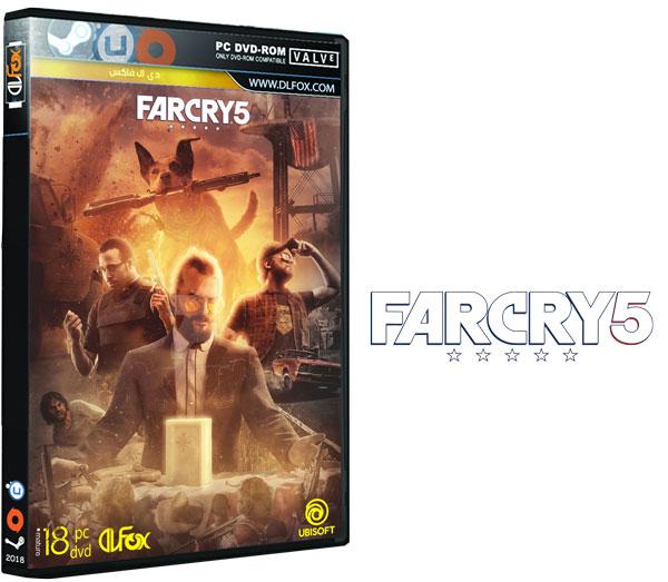 دانلود نسخه فشرده آپدیت بازی FAR CRY 5 برای PC