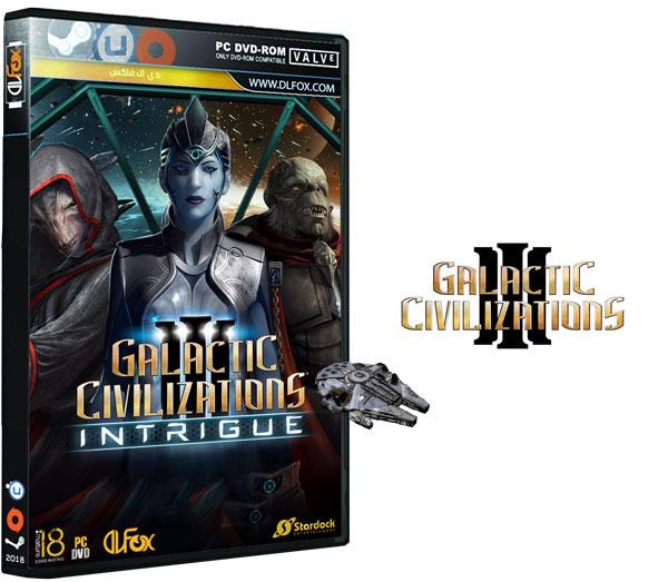 دانلود نسخه فشرده CorePack بازی Galactic Civilizations III: Intrigue Expansion برای PC
