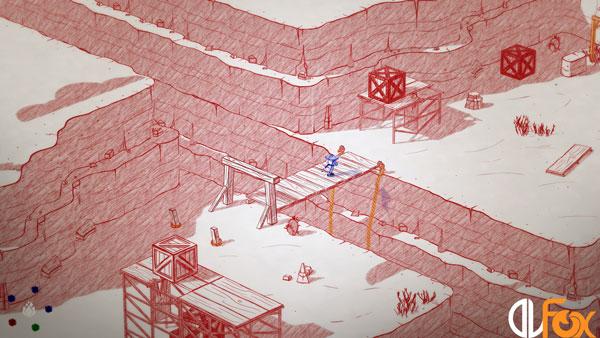 دانلود نسخه فشرده بازی Inked برای PC