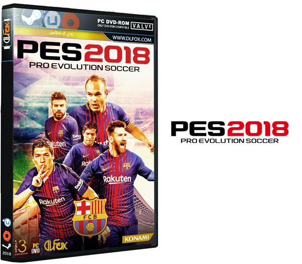 دانلود نسخه فشرده COREPACK بازی Pro Evolution Soccer 2018 برای PC