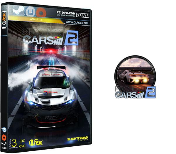 دانلود نسخه فشرده بازی PROJECT CARS 2 برای PC