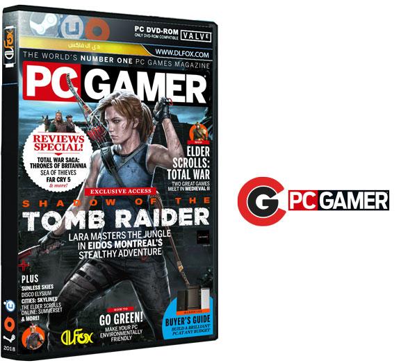 دانلود مجله PC Gamer UK – June 2018