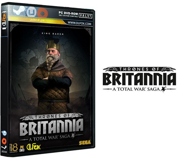 دانلود نسخه فشرده بازی TOTAL WAR SAGA THRONES OF BRITANNIA برای PC