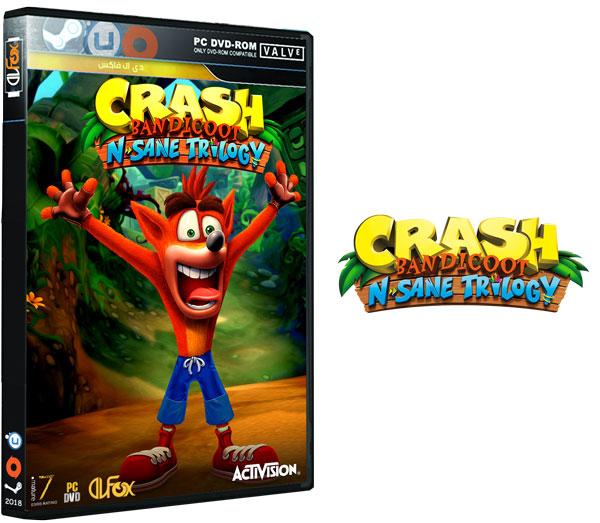 دانلود نسخه فشرده بازی Crash Bandicoot N. Sane Trilogy برای PC