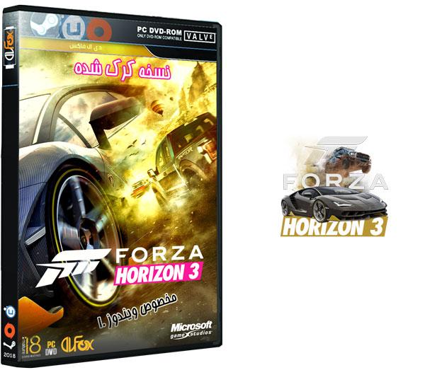 دانلود نسخه فشرده CorePack بازی FORZA HORIZON 3 برای PC