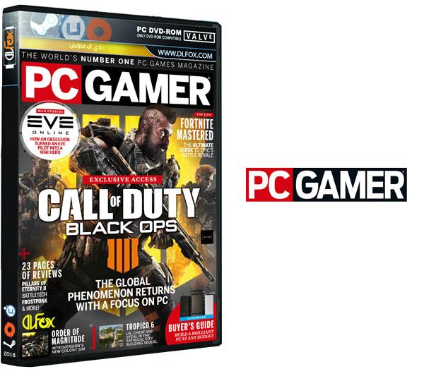 دانلود مجله PC Gamer UK – July 2018