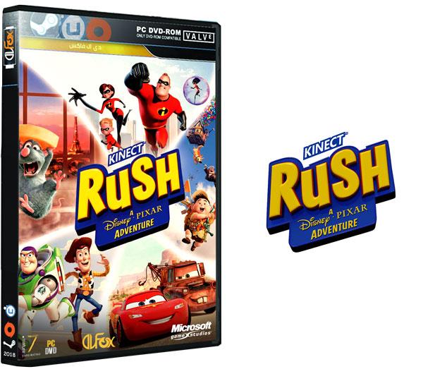 دانلود نسخه فشرده بازی Rush: A Disney Pixar Adventure برای PC
