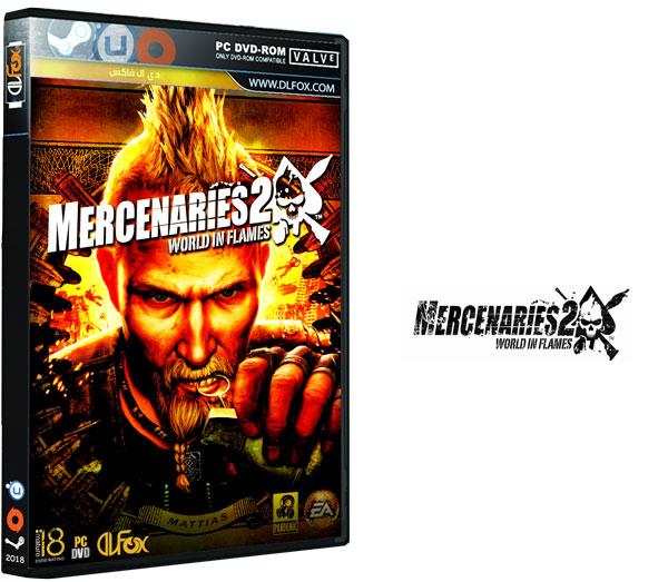 دانلود نسخه فشرده بازی Mercenaries 2 World Flames برای PC