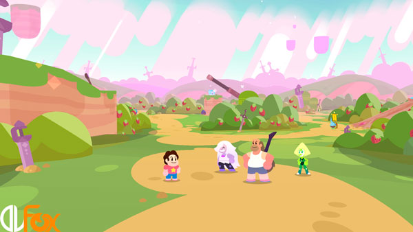 دانلود نسخه فشرده بازی Steven Universe Save the Light برای PC