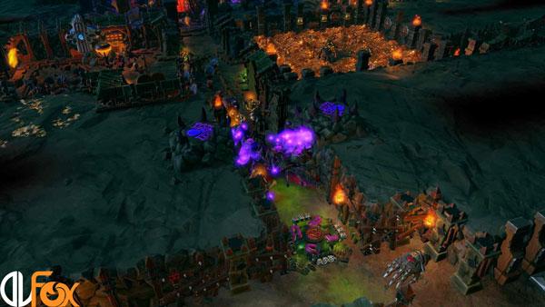 دانلود نسخه فشرده بازی Dungeons 3 – Clash of Gods برای PC
