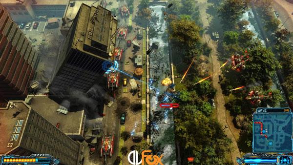 دانلود نسخه فشرده بازی X-Morph: Defense برای PC