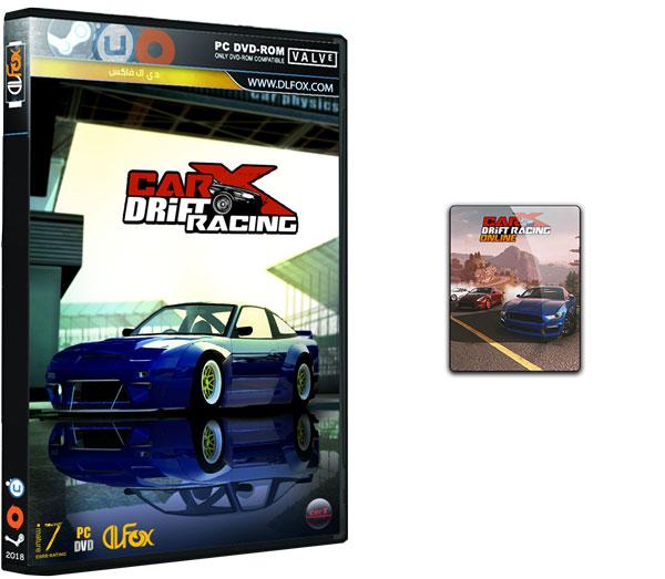 دانلود نسخه فشرده بازی CarX Drift Racing Online برای PC