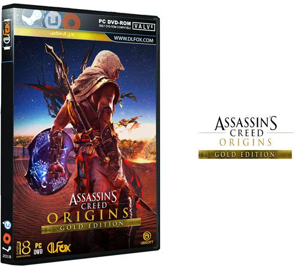 دانلود نسخه فشرده DLC و آپدیت بازی A C Origins – Gold Edition برای PC