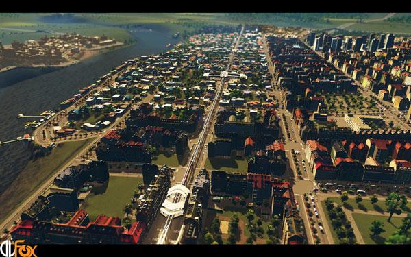 دانلود نسخه فشرده FitGirl بازی CITIES: SKYLINES برای PC