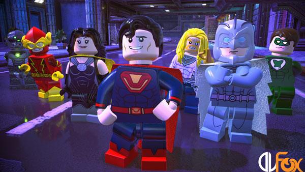 دانلود نسخه فشرده بازی LEGO DC Super-Villains برای PC