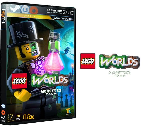 دانلود نسخه فشرده بازی LEGO Worlds: Monster Pack برای PC