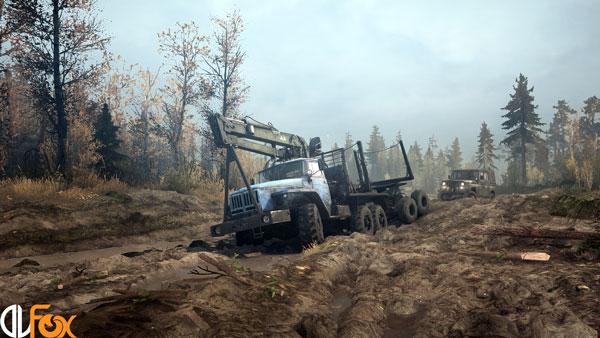 دانلود نسخه فشرده بازی Spintires: MudRunner برای PC