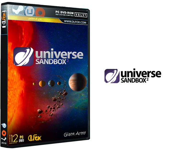 دانلود نسخه فشرده بازی Universe Sandbox ² برای PC