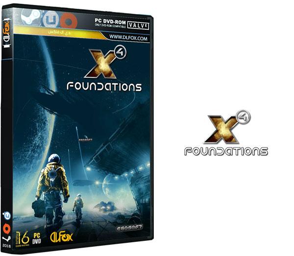 دانلود نسخه فشرده بازی X4: Foundations برای PC