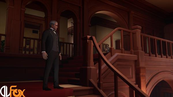 دانلود نسخه فشرده بازی The Invisible Hours برای PC