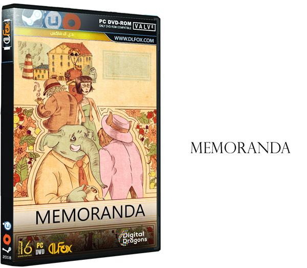 دانلود نسخه فشرده بازی Memoranda برای PC