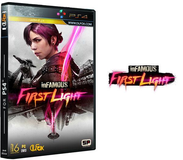 دانلود بازی inFamous: First Light برای PS4