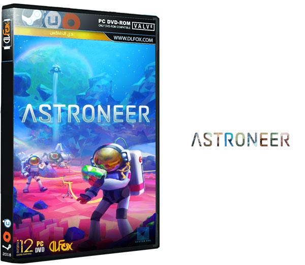 دانلود نسخه فشرده CorePack بازی ASTRONEER برای PC