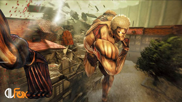 دانلود بازی Attack on Titan / A.O.T. Wings of Freedom برای PS4