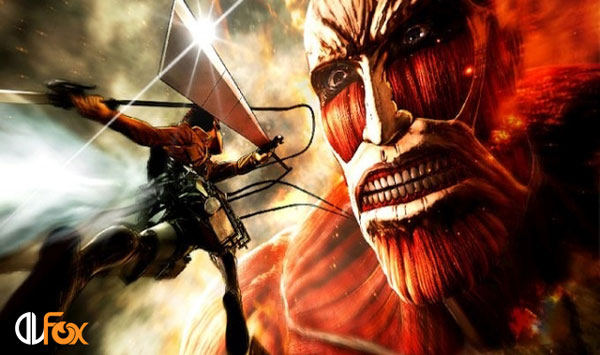 دانلود بازی Attack on Titan / A.O.T. Wings of Freedom برای PS4