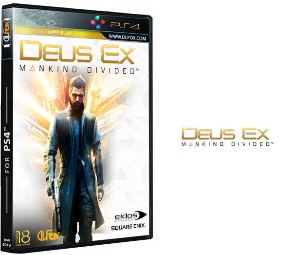 دانلود بازی Deus Ex – Mankind Divided برای PS4