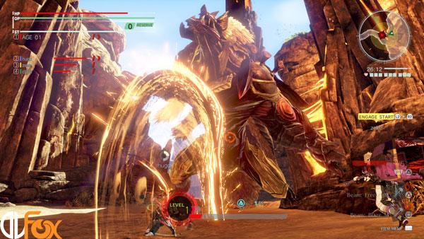 دانلود نسخه فشرده بازی GOD EATER 3 برای PC