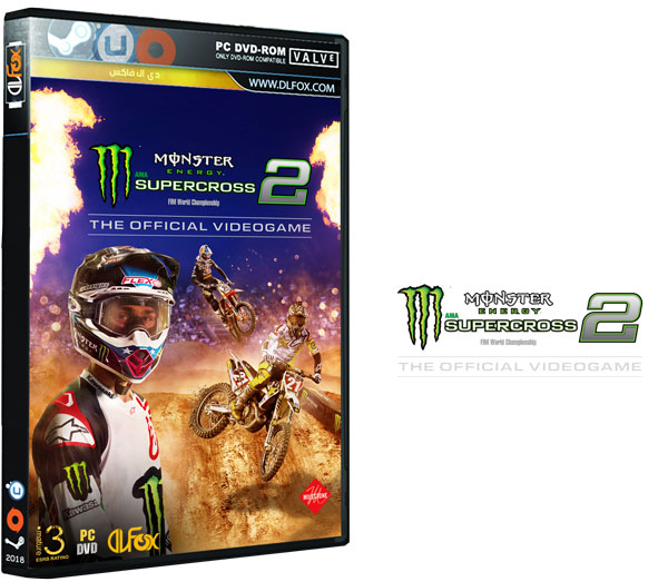 دانلود نسخه فشرده بازی Monster Energy Supercross-The Official Videogame 2 برای PC
