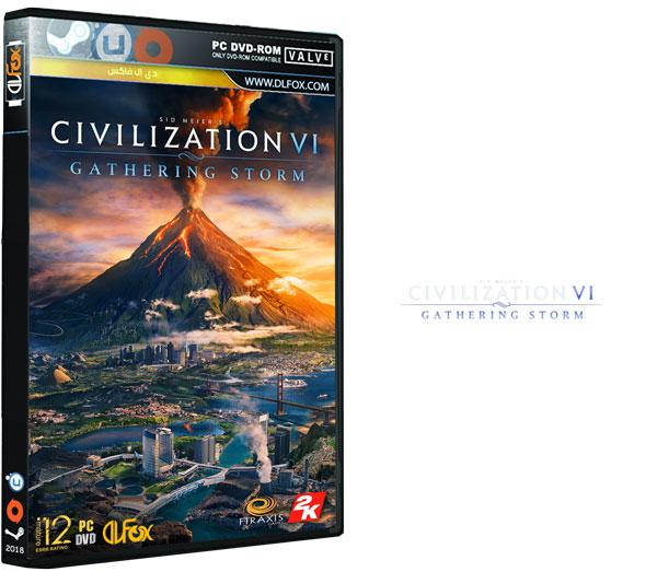 دانلود نسخه فشرده بازی Sid Meiers Civilization VI: Gathering Storm برای PC