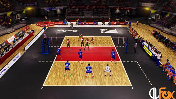 دانلود نسخه فشرده بازی Spike Volleyball برای PC