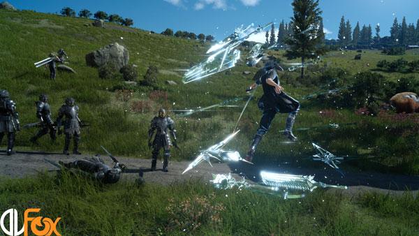 دانلود بازی Final Fantasy XV برای PS4