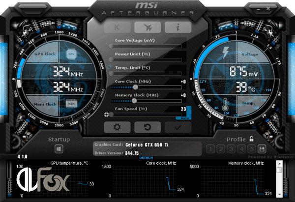 دانلود برنامه MSI Afterburner برای PC