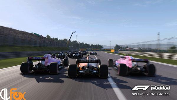 دانلود نسخه فشرده FitGirl بازی F1 2018 برای PC