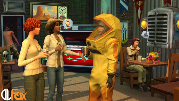 دانلود نسخه فشرده بازی The Sims 4: StrangerVille برای PC