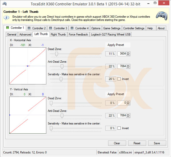 دانلود شبیه ساز دسته بازی و آموزش Xbox 360 Controller Emulator برای PC