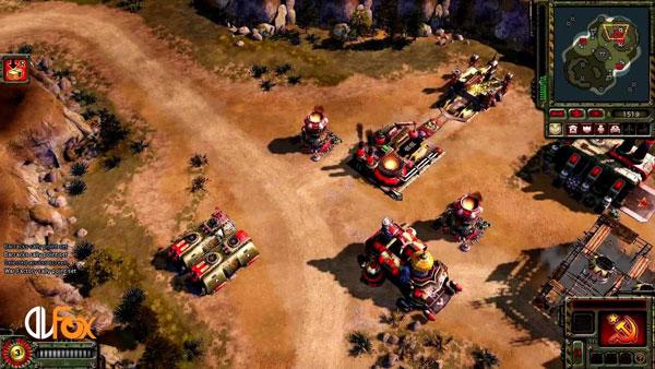 دانلود نسخه فشرده بازی C&C3: Red Alert 3 برای PC