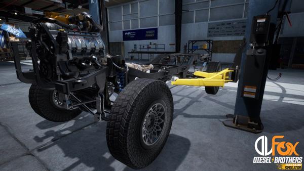 دانلود نسخه فشرده بازی Diesel Brothers: Truck Building Simulator برای PC