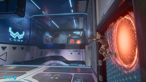 دانلود نسخه نهایی بازی Splitgate: Arena Warfare برای PC