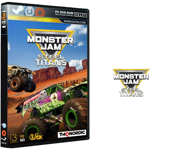 دانلود نسخه فشرده بازی Monster Jam Steel Titans برای PC