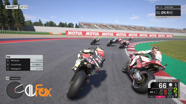دانلود نسخه فشرده بازی MotoGP 19 برای PC
