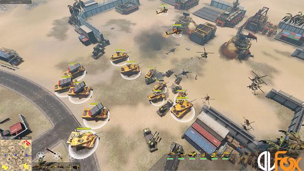 دانلود نسخه فشرده بازی Armor Clash 3 برای PC