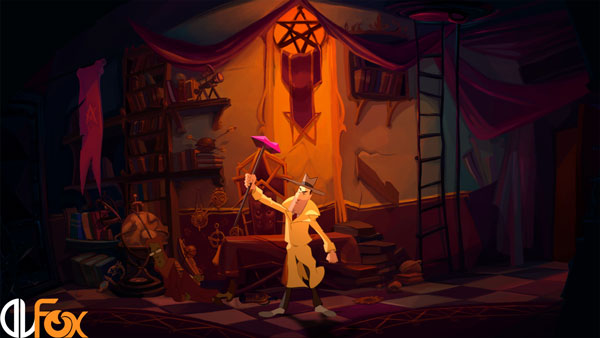 دانلود نسخه فشرده بازی Gibbous – A Cthulhu Adventure برای PC