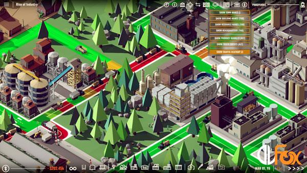 دانلود نسخه فشرده بازی Rise of Industry برای PC